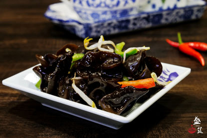 Picture of Black Fungus 凉拌木耳