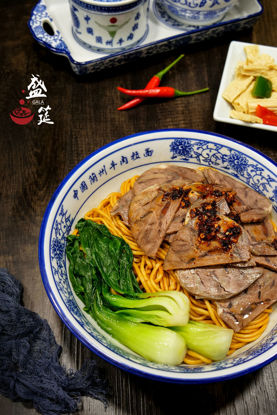 Picture of Dry Beef Noodles 干拌牛肉面